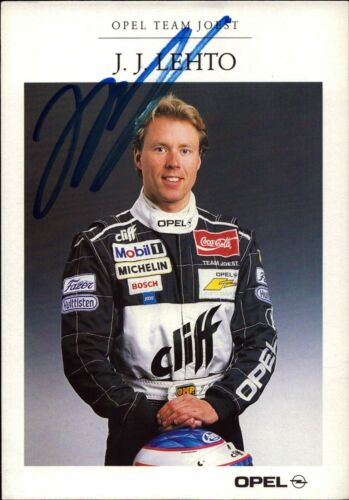 O-4136 JJ Lehto Opel Tourenwagen Motorsport Original Autogramm Autograph AK