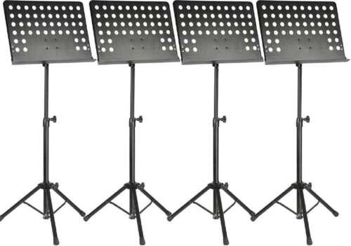 4 x Professioneller Notenständer Notenpult Orchesterpult Notenstativ Adam Hall