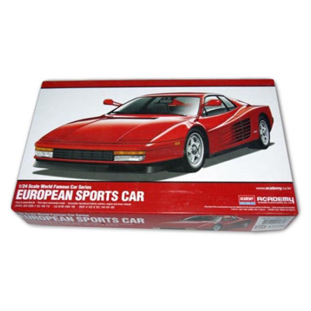 Academy #15107 1/24 Plastic Model Kit European Sports Car | eBay