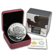 13912 NT 2014 /'The Bison A Family at Rest/' Proof $20 Silver Coin 1oz .9999 Fine