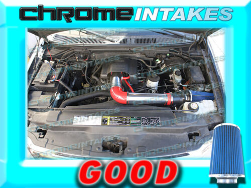 RED BLUE 97-04 FORD F 150//250 F150//F250//EXPEDITION 4.6L 5.4L V8 AIR INTAKE KIT