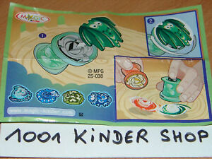 KINDER 2S-038 2S-38 BUGS ACTION BPZ VARIANTE ARG-MEX-KAN T4Y2RZ88-09084925-561280584