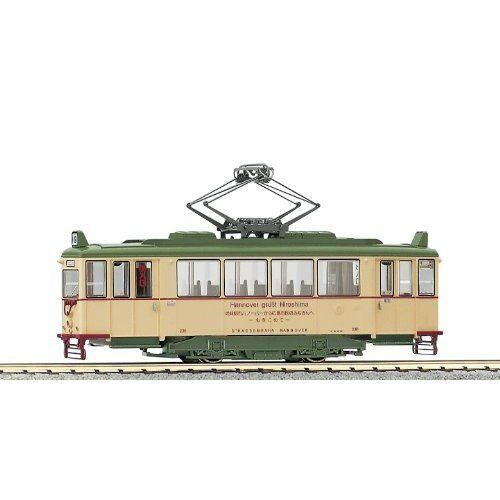 HO Scale   KATO 1-421 Hiroshima Electric Railway Type 200 Hannover Tram train.
