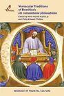 Vernacular Traditions of Boethius's de Consolatione Philosophiae by Medieval Institute Publications (Hardback, 2015)