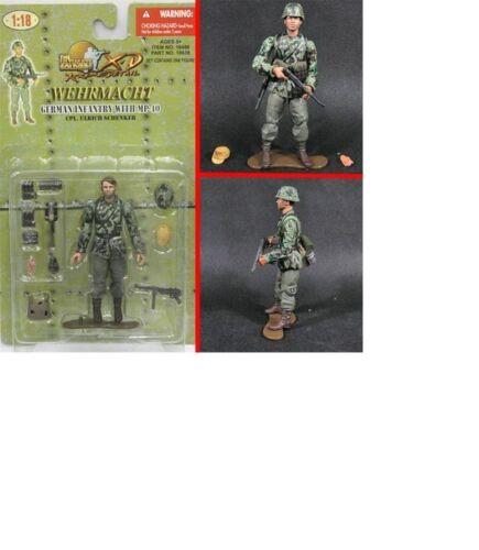21st Century 1:18 German Infantry with MP-40 Col Ulrich Schenker Figur