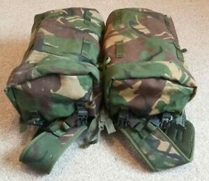 British-army-issue-dpm-PLCE-bergen-side-pouches-day-sack-with-Yoke-and-Straps