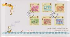 GB - GUERNSEY 2004 Celebration of 800 Years Loyalty to the Crown SG 1038/43 FDC