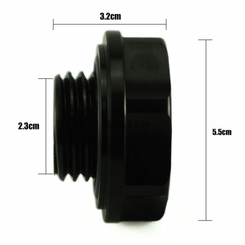 Mugen Power Oil Cap BLACK Oil Fuel Filter Racing Engine Tank Cap Cover for HONDA