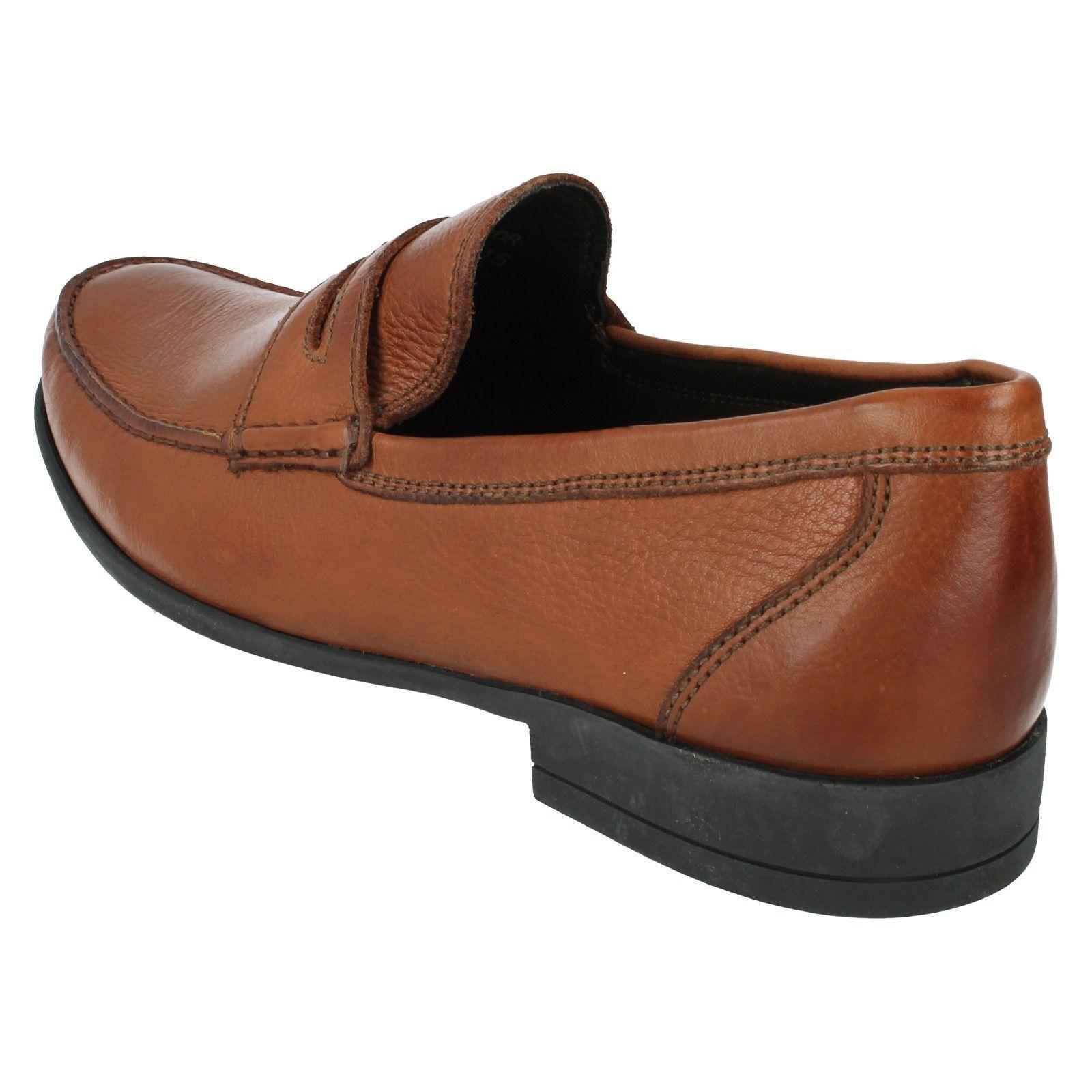 Uomo CASTELO slip Tan Leder Loafer Moccasin slip CASTELO on shoe By anatomic 4069f4
