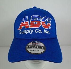ABC-Supply-Co-Inc-14-Tony-Kanaan-A-J-Foyt-Racing-Blue-Collector-Hat-Indy-500