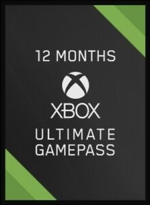12 month Xbox game pass ultimate 53% off limited offer