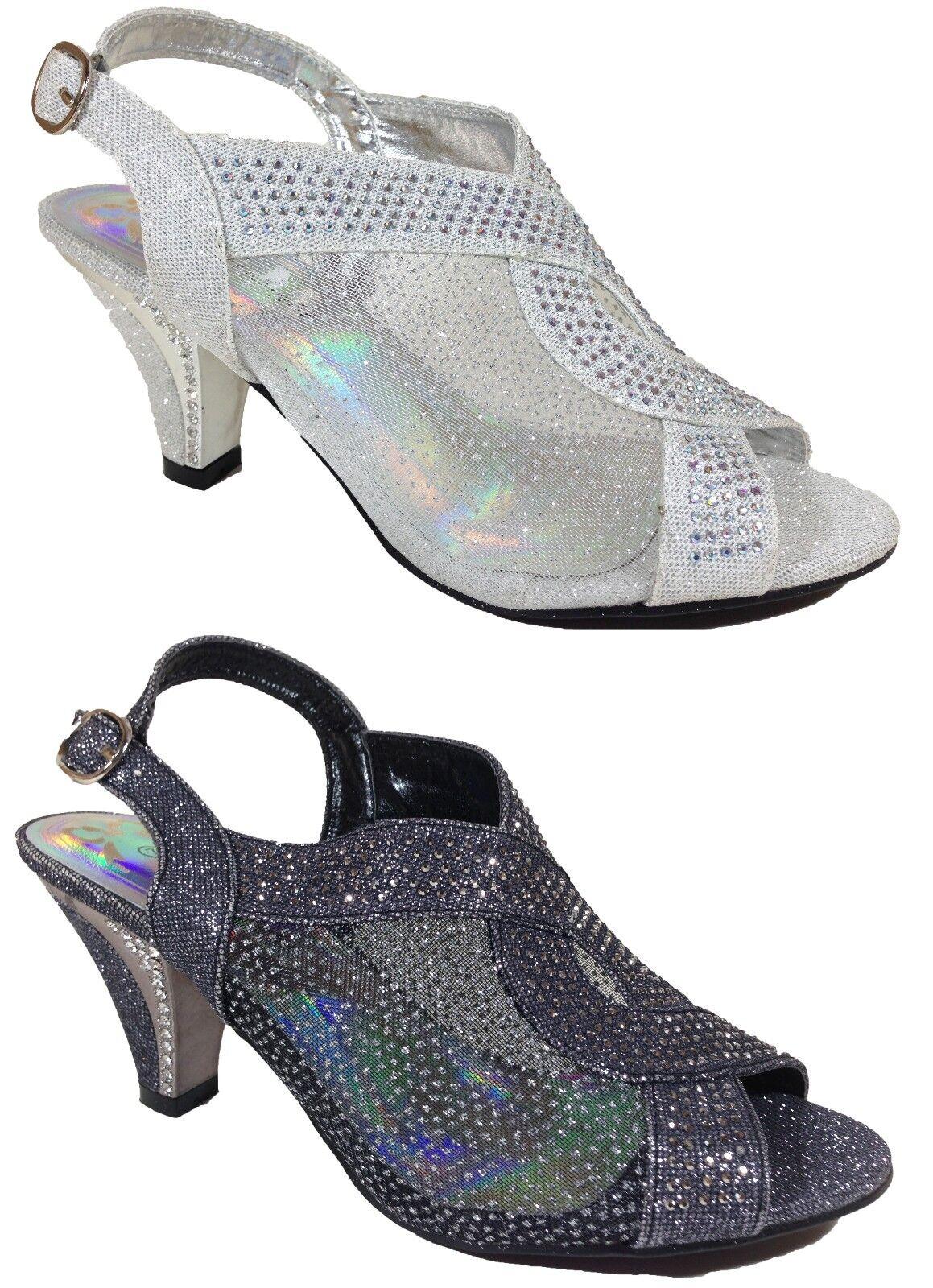 Women Evening Dress Shoes Rhinestones High Heels Platform Wedding Pumps Kinmi_03