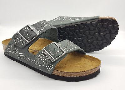arizona suede leather gunmetal