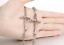 Bracciale-Braccialetto-Acciaio-Rosario-Crocifisso-Croce-Uomo-Donna-Unisex-Catena miniatura 11