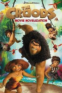 The-Croods-Movie-Novelization-West-Tracey-To-Be-Announced-Good-Fast-Delive