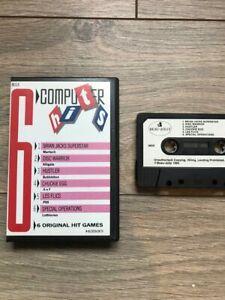 MSX-Game-COMPUTER-HITS-6-MSX-CASSETTE-GAME-DISC-WARRIOR-HUSTLER-CHUCKIE-EGG-CO