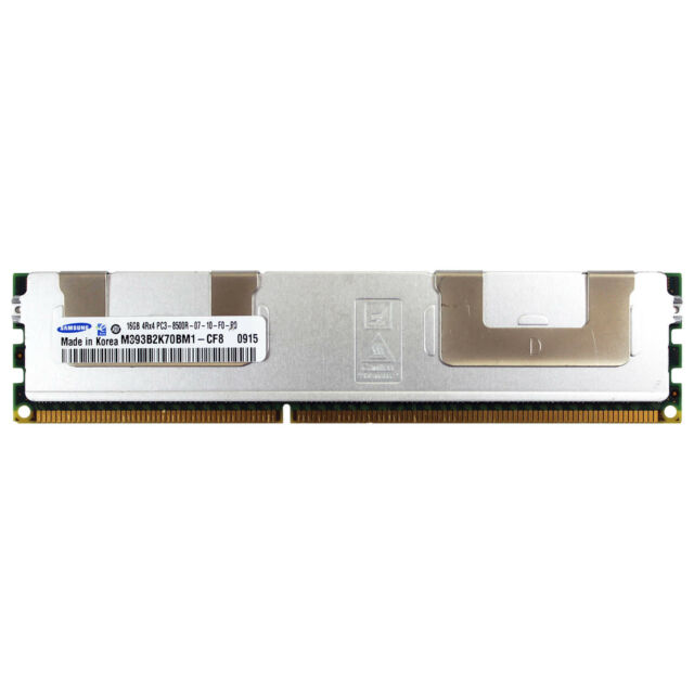 8GB DDR3 PC3-8500R 1066MHz Memory M393B5170DZ1-CF8 Server memory Samsung 2x4GB