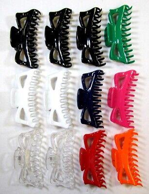 LOT OF 2,6,10 PCS-4.5 INCH LONG WOMEN TURTLE SHELL HAIR CLAWS HAIR CLIP-HC130TS