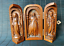 thumbnail 2 - noble old boxwood hand carved Christian Jesus statue Extension box table decor