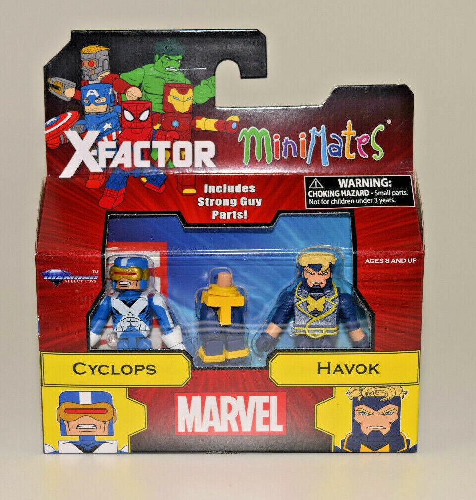Marvel Minimates série 78 X-Factor Cyclope
