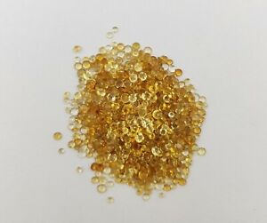 Amber cabochons 6mm round cut £1.50 each stone