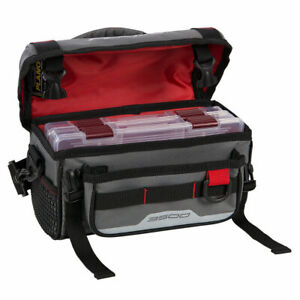 Section SpéCiale Plano Week-end Série 3500 Tackle Bag Fishing Gear Case Gray Plab 35120-afficher Le Titre D'origine