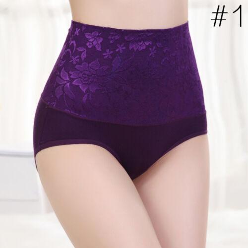 Women/'s BodyShaper Hip Abdomen Tummy Control Lace Panties High Waist Underwear #