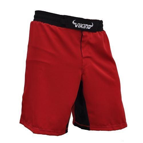 Viking Flex Shorts Red - MMA,BJJ, Fight gear