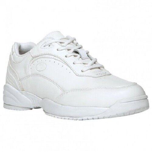 Propet Women/'s Nancy Walking Shoe Sneakers White Lace Up Size 8.5-9.5 WIDE