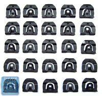 1967-70 Gm B Body Rear Window Molding Clip Kit - 25 Pieces -