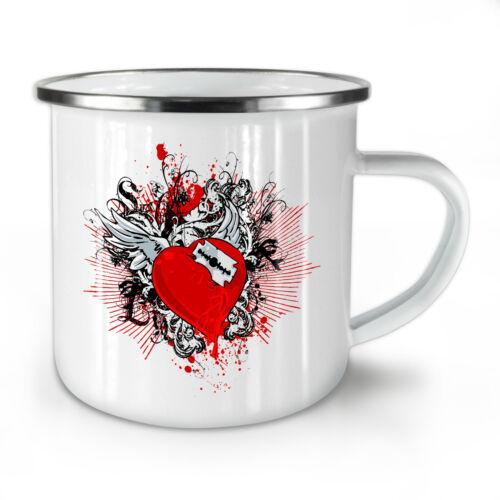 Corazón roto nuevo esmalte taza de té frescas de 10 Ozwellcoda