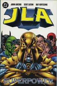 JLA-Superpower-DC-comic-TPB-1999-unread-NM
