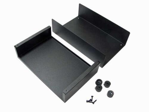 """Steel Project  Box  9-3//8/"""" x 6-15//16/"""" x 3/""""           PB11-XX-BK"""