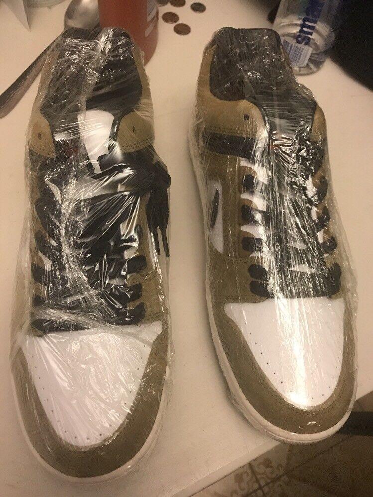 Nike sb air force 2 sz 10 lichen Braun schwarz