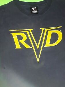 Rare-Vintage-2003-ROB-VAN-DAM-RVD-Shirt-Wwe-Wwf-ECW-Wcw-Nwo-Wrestling-AEW