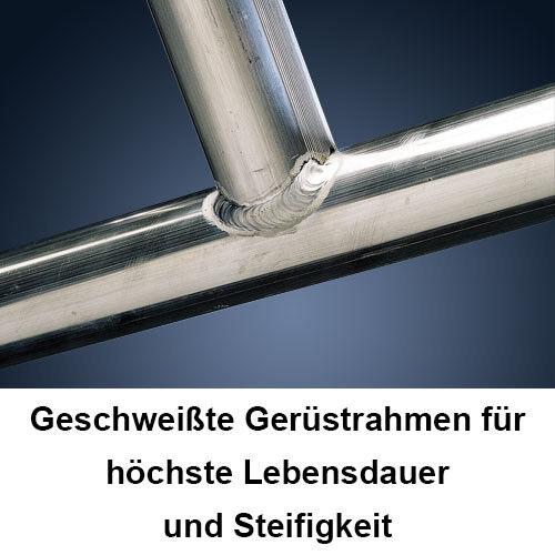 ALTEC Alu Gerüst AluKlik 300 neu Aluminium Rollgerüst Fahrgerüst Klappgerüst