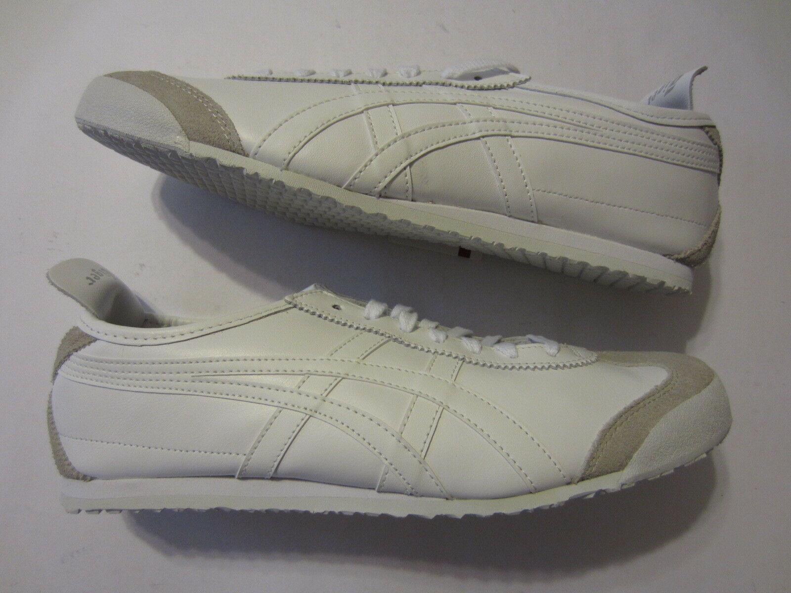 NEW Asics Onitsuka Tiger Mexico 66 mens shoe DL408 0101 sneaker white 44.5  10.5