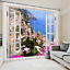 3D Coast city 0 Blockout Photo Curtain Printing Curtains Drapes Fabric Window AU