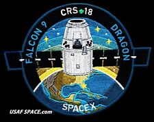SPACEX FALCON 9 DRAGON COTS DEMO 2 ISS NASA TRANSPORT SPACE Mission  Sticker