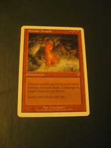 1x-Seismic-Assault-NM-7th-Edition-Modern-Seismic-Swans-Magic-the-Gathering