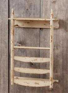New Primitive Country Farmhouse RUSTIC BARN WOOD TOWEL HOLDER Wall Hanging Bar