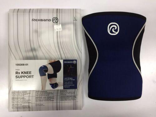 Rehband Knee Sleeve 5mm Navy Brand New Various Sizes