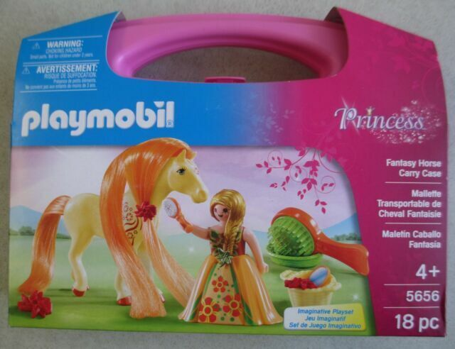 New Factory Sealed Playmobil #5656 Fantasy Horse Carry Case