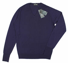 John Smedley - Bobby Grape Easy Fit Pullover - Size S *NEW WITH TAGS* RRP£135