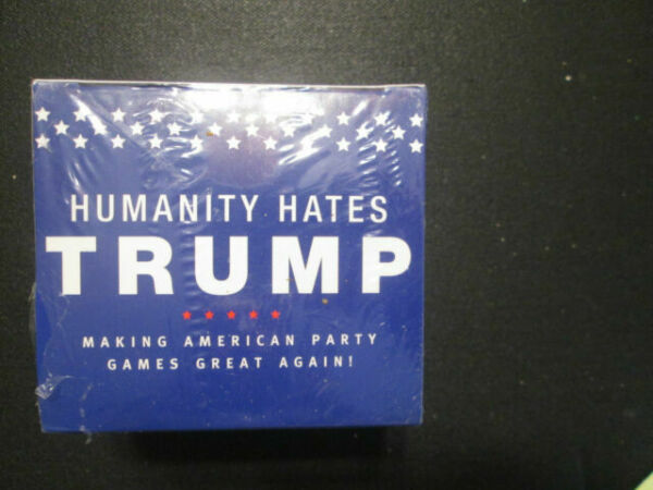 SCS Direct The World Hates Trump Card Game Base Set Party Card Game with 200