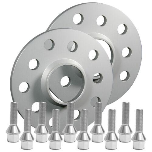 Silverline ensanchamiento 40mm 5x120 con tornillos plata bmw 3er e36 todos