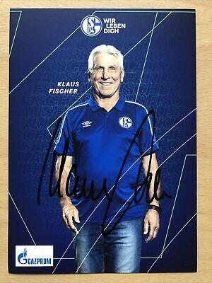 41 AK FC Schalke 04 Autogramme 2020-21 original signiert Vorstand Repräsentant