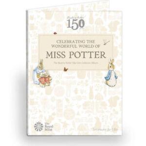 Royal-Mint-2016-Beatrix-Potter-50p-Coin-Album-Folder-Brand-New-Peter-Rabbit