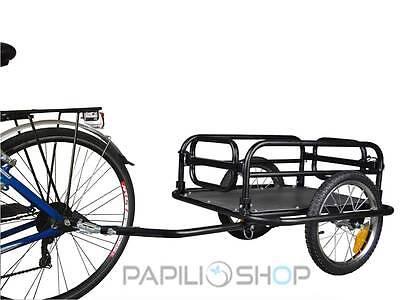 Rimorchio per bici bicicletta da trasporto cose cicloturismo carrello carrellino