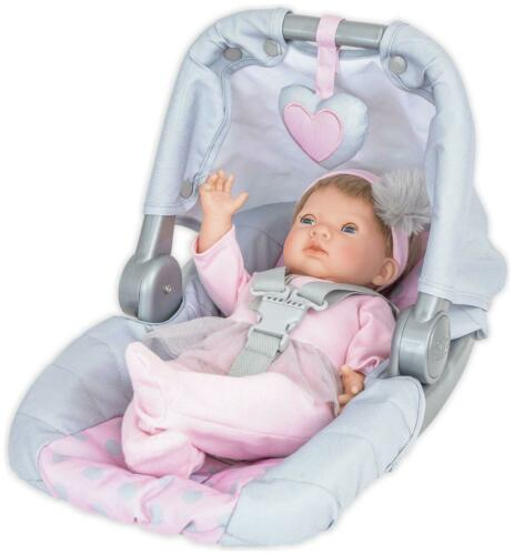 Chad Valley Tiny Treasures Doll/'s Car Seat Carrier Doll Toy Baby Accessories NEW